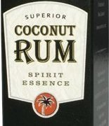 Barbados rum blending coconut and sugar cane with soft butter notes give this a smooth, lush texture.