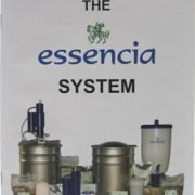 The essencia System Booklet cover